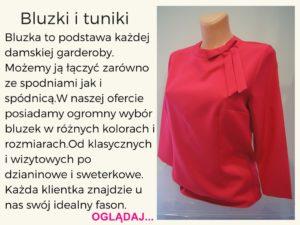 bluzki damskie-bella boutique opole