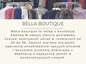 Bella boutique opole oferta