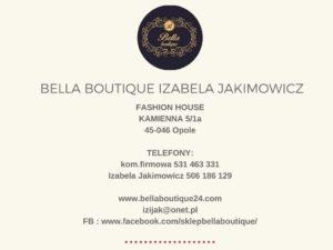 Bella boutique - kontakt Opole