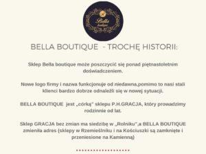 Bella boutique sklep