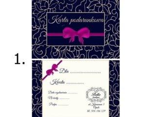 karta prezentowa