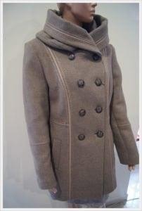 kurtka wełniana damska