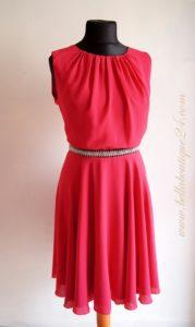 sukienka z dżetami