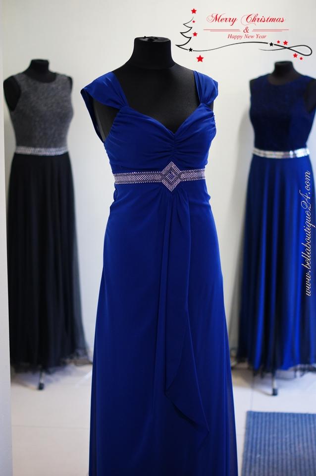 sukienka długa wizytowa